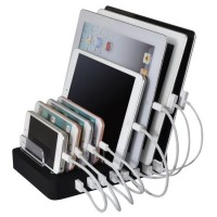 2.4A x 8 Port USB Charger Station