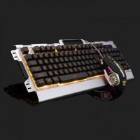 USB 金屬鍵盤滑鼠套裝 K33