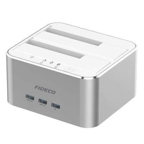 Fideco Y842H SATAx2 & USB 3.0 Docking