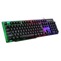 Friwol 透明面板 RGB 鍵盤 FW707