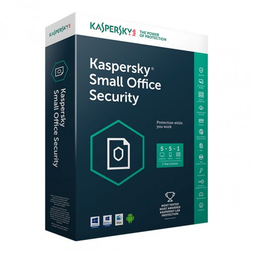 Kaspersky Small Office Security 2 Years - 5 PCs + 5 Mobile Device + 1 File Server Pack 繁體/英文